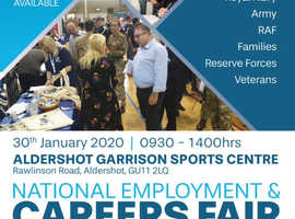 National Employment & Careers Fair @ Aldershot
