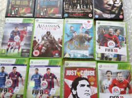 Xbox 360 games  and dvd