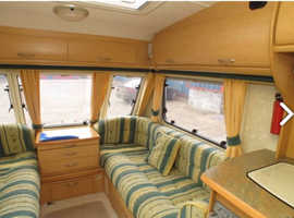 Abbey Expression 4 Berth Caravan Inflatable Awning Motor Mover Ready to go!