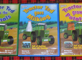 5 Tractor Ted DVDs.