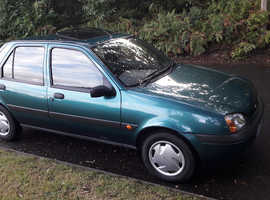 Ford Fiesta 1299cc 5 door new mot drives fine