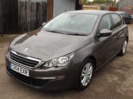 Peugeot 308, 2014 (14) Grey Hatchback, Manual Diesel, 66,000 miles £0 Road Tax