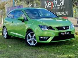 2017 Seat Ibiza 1.2 TSI FR Technology SportCoupe WOW! Just Look at the Colour of this Stunning Very Low Mileage SportCoupe