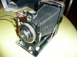 Vintage/Antique Voightlander Compur Folding Plate Camera.