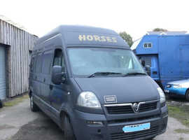 Vauxhall Movano 2 Stall 3.5t Horsebox