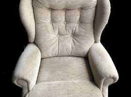 Sherborne Refurbished Rise and Recliner Chair - 3 months warranty! Free delivery!