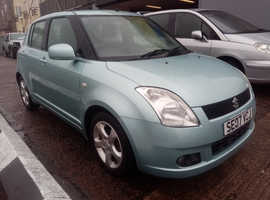 Suzuki Swift, 2007 (07) Blue Hatchback, Manual Petrol, 89,744 miles