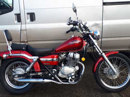 STUNNING 2007 HONDA CMX250C REBEL. A2 LICENCE, ONLY 4675 MILES