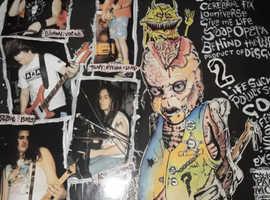 Rare vinyl collection