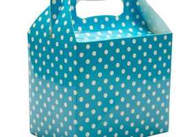 Polka Dot Cake Boxes