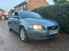 Volvo S40/V50 SERIES, 2007 (07) Blue Saloon, Manual Petrol, 127,803 miles