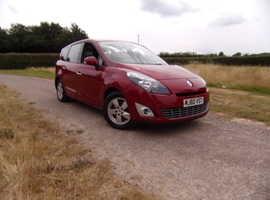 Renault Grand Scenic, 2010 (60) Red 7 seater, Manual Diesel, 85,524 miles