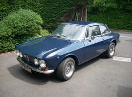 1976 DUTCH BLUE ALFA ROMEO GT JUNIOR 1600