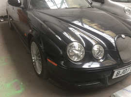 Jaguar S-TYPE, 2007 (07) Black Saloon, Manual Diesel, 107,000 miles