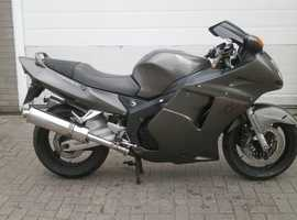 Honda CBR1100XX Super Blackbird Superbike 1997mot , hpi clear hyperpro Art cans