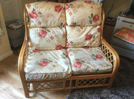 Beautiful conservatory sofa and matching chairs