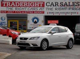 2014/64 Seat Leon 1.2 TSi SE finished in Arctic White., 54,040 miles