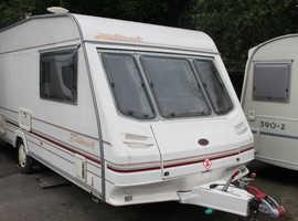 Sterling Hallmark 500L 1998 5 berth Caravan + Motor Movers + Full Awning + Porch Awning