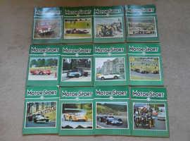 1969 MOTORSPORT MAGAZINES COMPLETE SET JAN - DEC