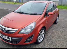 Vauxhall Corsa, 2012 (12) Orange Hatchback, Manual Petrol, 67,300 miles