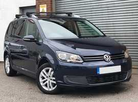 VW Touran 1.6 TDI SE, Diesel 7 Seater MPV, Park Assist, Lovely Specification, Supern Service History