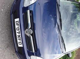 Vauxhall Agila, 2007 (07) Blue MPV, Manual Petrol, 42,413 miles