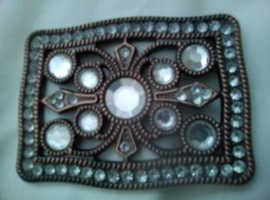 Bronze  coloured belt buckle