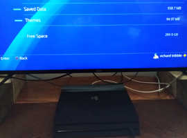 Ps4 Pro 1tb with 31 games save to hard drive