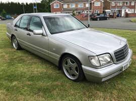 Mercedes S280 AUTO, 1997 (R) Silver Saloon, Manual Petrol, 104,000 miles
