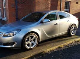 Vauxhall Insignia, 2014 (14) Silver Hatchback, Manual Diesel, 78,466 miles