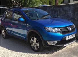 BARGAIN 14 Plate Dacia Sandero Stepway 1.5 DCI*38,000 miles*£20 a year Tax!*BARGAIN £3750