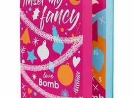ADVENT CALENDAR  BOMB COSMETICS  TINSEL MY FANCEY  Contains 24 indulgent bath time treats  Handmade  Open a door every day to a product jam-packed wit