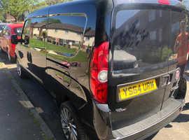 Fiat Doblo, 2014 (Q) black other, Manual Diesel, 109000 miles