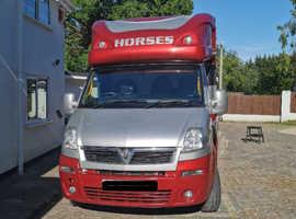 3.5 tonne, automatic, vauxhall mavano horsebox