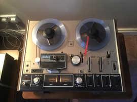 Akai stereo reel to reel tape recorder