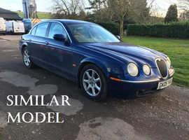 Jaguar S-TYPE, 2006 (06) Blue Saloon, Automatic Diesel, 160,461 miles - £1050