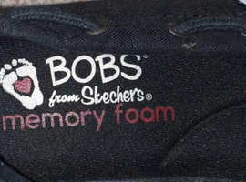 Size 3 Bobs from Skechers Memory foam arch pillow shoes