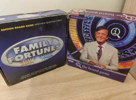 QI and Family fortunes board games