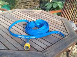 Flat food quality hose made by Whale