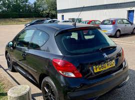 Peugeot 207, 2011 (60) Black Hatchback, Manual Diesel, 128,136 miles