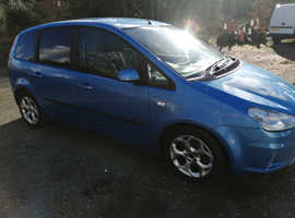 Ford C-Max, 2008 (58) Blue MPV, Manual Petrol, 55,072 miles