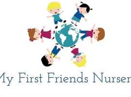 30% Off Full Fee Paying Fees at My First Friends Nursery