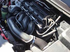 Ford Focus, 2010 (60) Red Hatchback, Manual Petrol, 59,990 miles