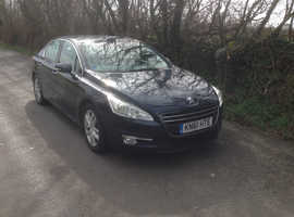 Peugeot 508, 2011 (61) Blue Saloon, Manual Diesel, 95,958 miles