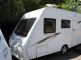 Elddis Vogue 304 2012 4 Berth Caravan + Motor Movers + Light Towing Weight