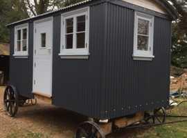 Shepherds hut garden room