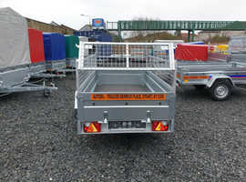 BRAND NEW Trailer 7,7 x 4,2 tipping with 40cm mesh £870