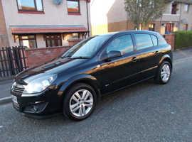 Vauxhall Astra, 2009 (59) Black Hatchback, Manual Petrol, 102,000 miles