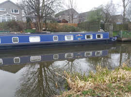 Spacious Narrowboat 62ft