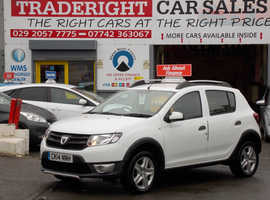 Dacia Sandero, 2014 (14) White Hatchback, Manual Petrol, 73,562 miles
